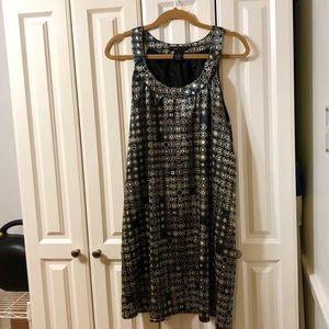 BCBG MAX AZRIA Flapper Dress ADORBS Size XL NWOT